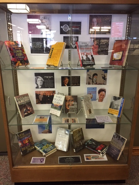 Women's History Month 2017 DIsplay
